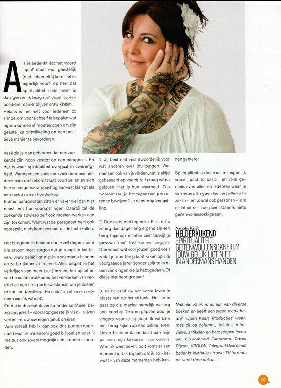 Nathalie Kriek columnist tekstschrijver