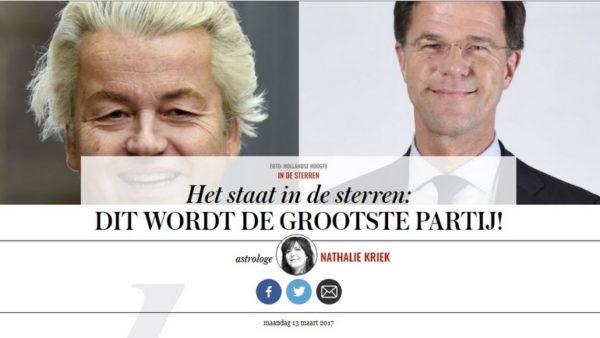 Geert Wilders nieuwe premier?