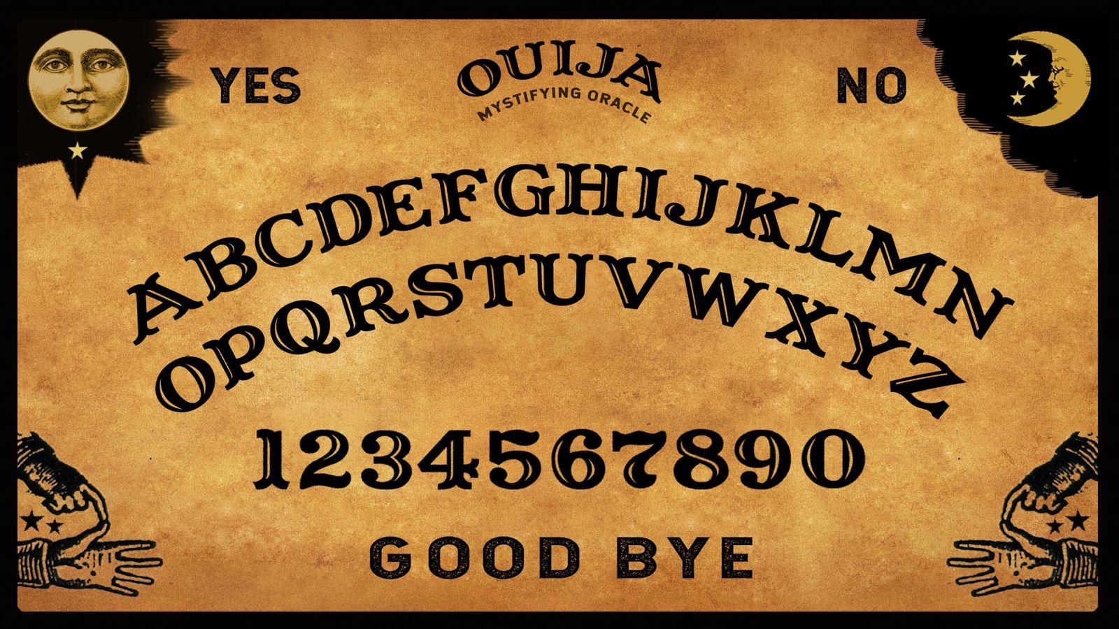 de geschiedenis van het Ouijabord