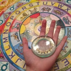 psychic circle bordspel