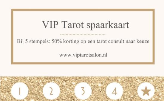 VIP Tarot spaarkaart