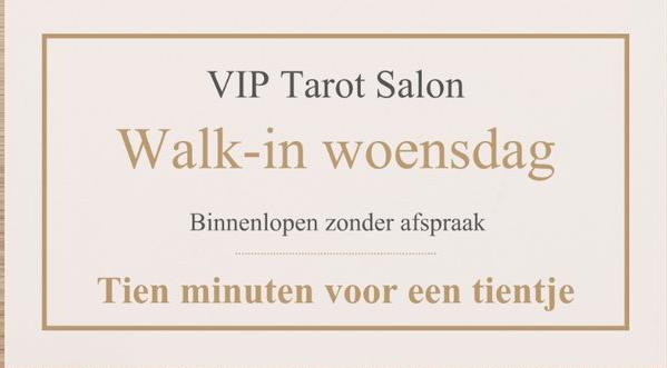 VIP Tarot Walk-in