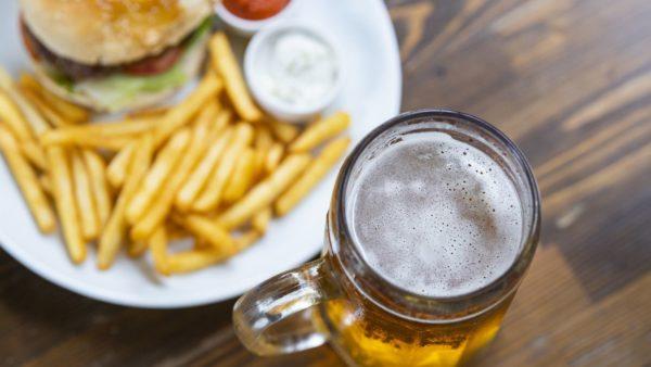 afvallen en alcohol drinken