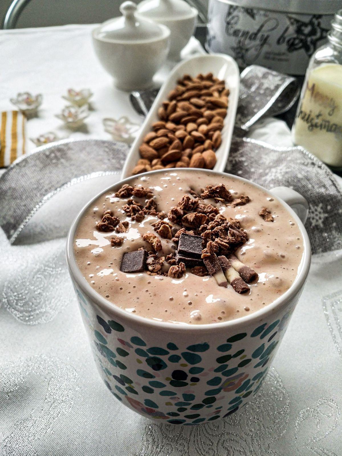 afslanken zuivel chocolade smoothie