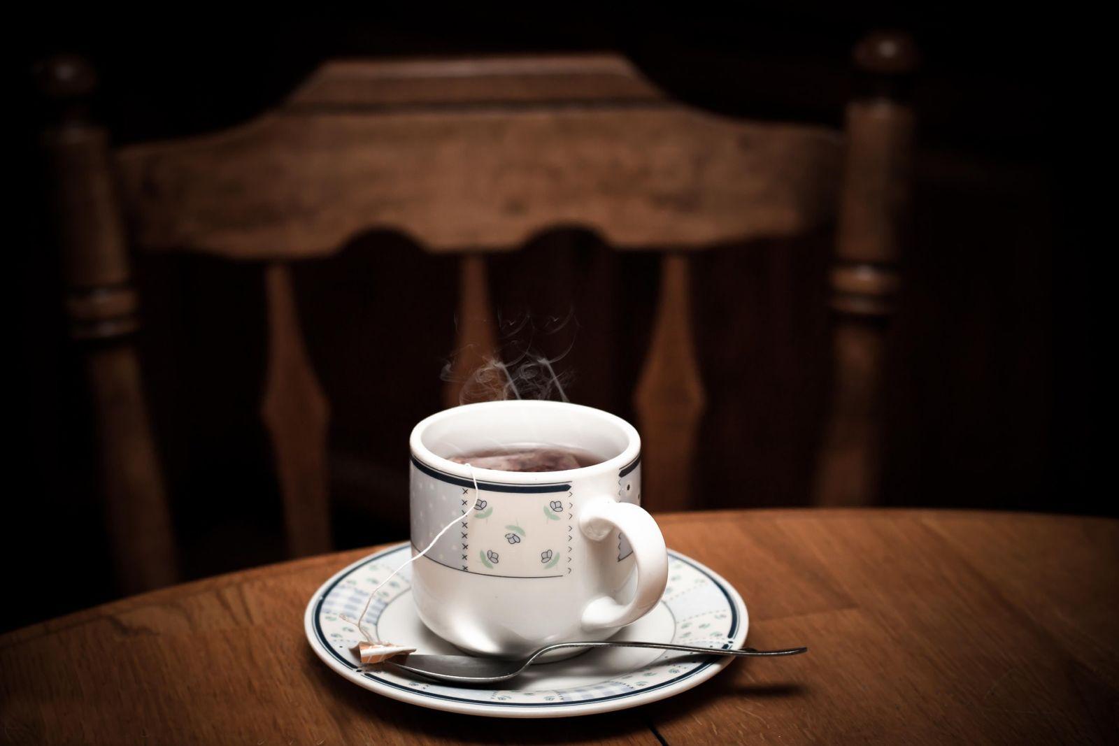 afslanken met thee