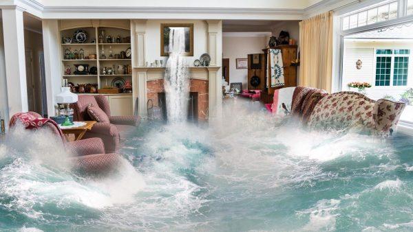 oorzaak overstromingen