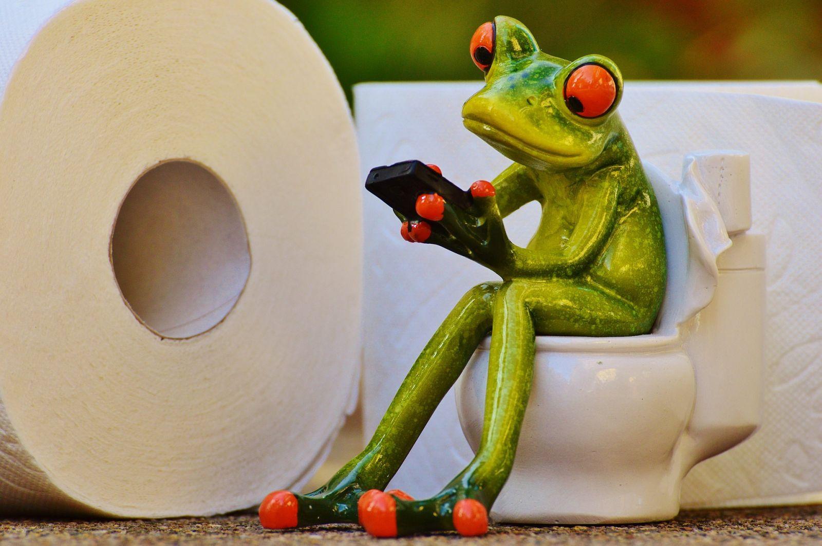 Waargebeurd liefdesverhaal (9). That's me in the toilet.